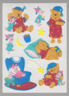 Half Strip of Vintage 1992 VERY RARE RETIRED Sticker Mrs Grossman CHIPMUNKS
