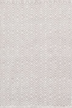 This clever take on a classic diamond pattern—in a durable, washable indoor/outdoor jacquard weave made of recycled materials—is an instant style star. Due to the handmade nature, variations in color are expected. Wall Carpet, Diy Carpet, Modern Carpet, Rugs On Carpet, Carpet Ideas, Carpets, Stair Carpet, Carpet Decor, Magic Carpet