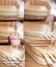 Paper Basket Weaving, Weaving Art, Rattan Basket, Wicker, Corn Husk Dolls, Weaving Designs, Basket Decoration, Craft Box, Popsicle Sticks