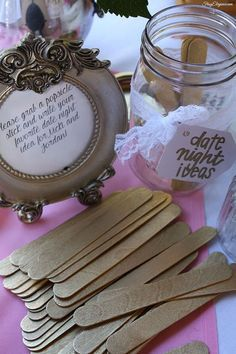 Bridal Shower Decor by FrugElegance.com See more great shower ideas on the blog:http://frugelegance.com/post/93205828149/diy-bridal-shower-decor