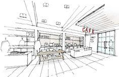 London ASOS Headquarters,Sketch