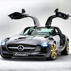 Seriously Cool Mercedes SLS AMG