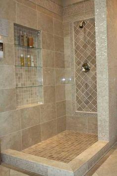 Diy bathroom decor, bathroom layout, bathroom interior, bathroom niche, b. Diy Bathroom Remodel, Shower Remodel, Bathroom Renovations, Master Bath Remodel, Small Full Bathroom, Small Bathroom Layout, Bathroom Colors, Simple Bathroom, Rustic Bathroom Shower