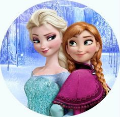Frozen clip art | http://coloring.filminspector.com/2014/11/frozen-clip-art-of-anna-elsa-kristoff.html