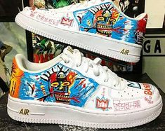 6ix9ine Nike Air Force 1 Custom | Buty nike, Nike, Obuwie