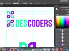 Descoders Branding Process by Kshitij Choudhary