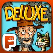 Pettson's Inventions Deluxe is a unique and highly engaging problem solving puzzle app for children as well as adults.Meet Pettson and his cat Findus,. Best Android, Android Apps, Free Android, Ipod Touch, Les Inventions, Amazing Inventions, Ludo, Rube Goldberg Machine, Electronic Media