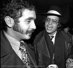 Willie Colon y Hector Lavoe, the bad boys of salsa. Photo by Martin Cohen Salsa Musica, Puerto Rican People, Willie Colon, Daniel Santos, All Star, Afro Cuban, 70s Aesthetic, African Artists, Latin Music