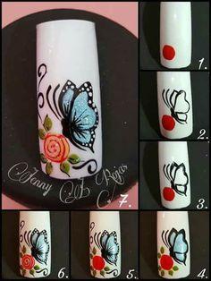 Nail Manicure, Toe Nails, Pink Nails, Coffin Nails, Pedicure, Acrylic Nails, Nail Art Designs Videos, Nail Designs, New Nail Art Design