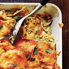 Chicken Enchilada Casserole | A Month of Heart-Healthy Recipes | MyRecipes.com