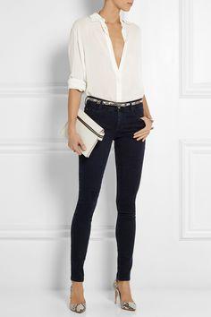 STELLA MCCARTNEY Low-rise skinny jeans £175.00 http://www.net-a-porter.com/products/504611