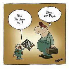 Sehr lustiger #Cartoon von #Hilbring #hwg