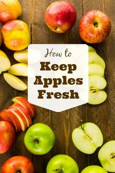 Keep these tips on how to keep apples fresh in mind to help your apples last longer. Here's what you need to know to get your money's worth. Use this idea to keep apples crisp for weeks.
