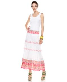 Style Skirt, Printed Tiered Maxi - Womens Skirts - Macy's