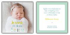 Einzigartige Geburtskarten-Designs für alle werdende Mamis & Papis.