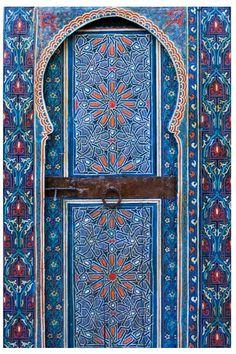 Дверь в Марокко