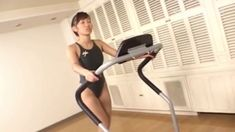 ba70c6c4c5f74 Trying Swimsuit Asics Deep Grey for Sport (Japanese Swimsuit Model at Gym)