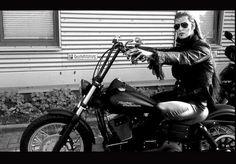 Krolock on a Harley XD (Jan Ammann)