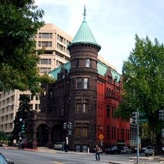 The Two-Tone Castle at Dupont Circle