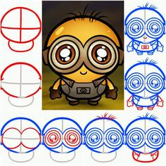 Mini tutos kimmy: Como dibujar/minions