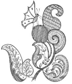 Jacobean Crewel Embroidery patterns-jacobean_w_butterfly.gif