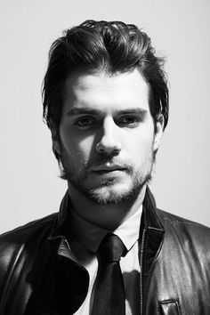 Henry Cavill in Black and White Edition