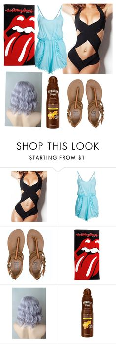 """Untitled #370"" by kitty-cat-queen ❤ liked on Polyvore featuring Hot Anatomy, Billabong and Hawaiian Tropic"