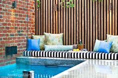 Sold Regent Street, Elsternwick VIC 3185 on 28 Oct 2017 - 2013900086 Outdoor Sofa, Outdoor Spaces, Outdoor Living, Outdoor Furniture, Outdoor Decor, Regent Street, Garden Pool, Pool Houses, Beautiful Family