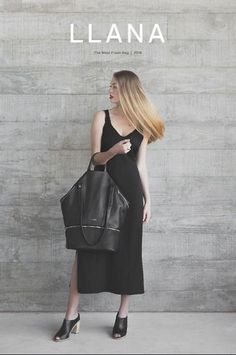 Exclusive, first look at the new elegant and versatile bag for active women on the go // watch the commercial trailer at shopllana.com