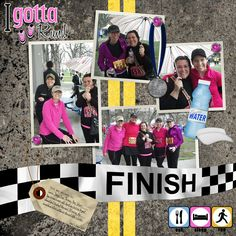 triathlon+scrapbooking+layouts | ... Scrapbooking, Scrapbook Templates, Digital Brushes, Project 365