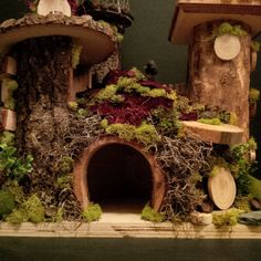 OOAK Fairy House: Fairy Kings Castle by BirchTreeFairyHouses