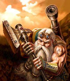 Dwarf engineer #dwarf #rpg #d&d #dnd