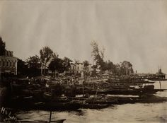 The Marina - Lagos. View from Lagoon | by Thomas Fisher Rare Book Library, UofT
