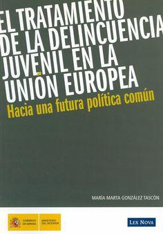 El tratamiento de la delincuencia juvenil en la Unión Europea : hacia una futura política común / María Marta González Tascón, 2010