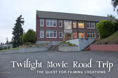 Road Trip - Finding Twilight Movie Filming Locations in the Pacific Northwest