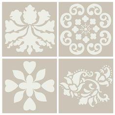 stencil patterns <3