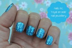 nails inc sapphire nail jewellery