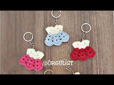 Freeform Crochet, Diy Crochet, Crochet Crafts, Crochet Baby, Crochet Doll Dress, Crochet Doll Clothes, Knitting Videos, Crochet Videos, Crochet Toys Patterns