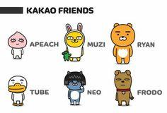 Apeach Kakao, Kakao Friends, Kawaii Anime, Comics, Korea, Character, Food, Essen, Meals