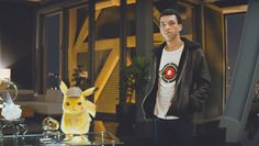 'Detective Pikachu' Star Justice Smith Reveals He's Been A 'Huge Pokemon Fan' Since He Was Little Kid - Dolcify Celeb Highlights Pikachu Pikachu, Pokemon Go, Ryan Reynolds, Sardonic Humor, Streaming Hd, Shia Labeouf, Star Wars, Could Play, Detective