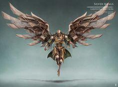 ArtStation - Silver wings, Rok Kleva Ivančić