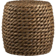 chunky weave handwoven and sturdy | Crate and Barrel