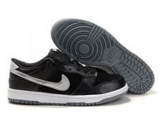 huge selection of fe0cc d9c51 Nike Dunk Low Shoes - BlackSilver - Wholesale  Outlet Michael