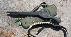 Aaron- Chiappa 1887 T-Model Lever-Action Shotgun- Gun Of The Day - Gears of Guns Tactical Shotgun, Tactical Gear, Weapons Guns, Guns And Ammo, Rifles, Lever Action, Firearms, Shotguns, Cool Guns