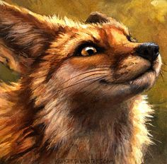 I'm A Fox And You Are Not by kenket Traditional Art / Paintings / kenket Furry Wolf, Furry Art, Animals Beautiful, Cute Animals, Fox Drawing, Fox Art, Cute Fox, Red Fox, Wildlife Art