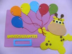 Placa de rotina: Aniversariantes do mês balão DECORAÇÃO PARA SALA DE AULA 2014   A PETILOLA tem cada novidade para volta às aulas.  Sua sala de aula vai ficar linda!!!  Confira as novidades no site www.petilola.com.br