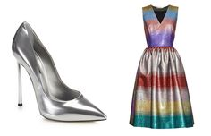 Metallic Shoes And All the Bags, Clothes, Beauty and More to Match
