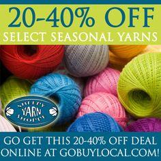 Make a lasting project at Sheepy Yarn Shoppe  http://www.gobuylocal.com/offerseo/White_Bear_Lake-MN/Sheepy_Yarn_Shoppe/2312/174/