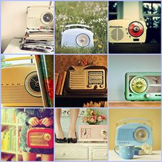 I want a retro radio for our new kitchen!