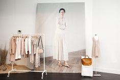 Stella Tennant pic, Vanessa Bruno Pop-Up Store, New York « The Sartorialist Shop Interior Design, Retail Design, Store Design, Tienda Pop-up, Pop Up Shops, Vanessa Bruno, Retail Space, Shop Interiors, Visual Merchandising